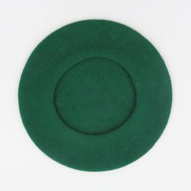 Béret Classique Vert Homme