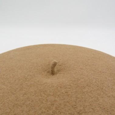 Béret Classique Camel Femme