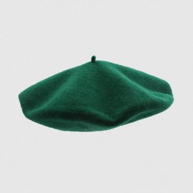 Béret Classique Vert Femme