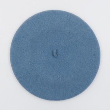 Béret Classique Bleu Crépuscule Femme