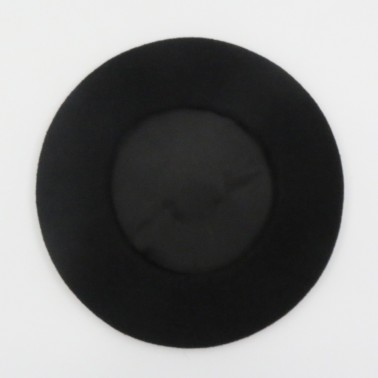 Premium black Beret for men
