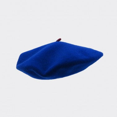 Premium Beret Royal Blue Woman