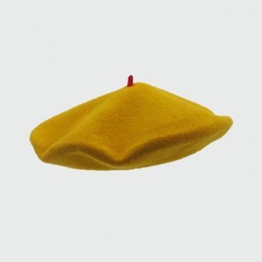 Béret Mode Moutarde Femme