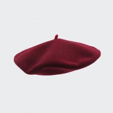 Premium Beret Cranberry Woman