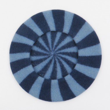Béret berlingot bleu homme