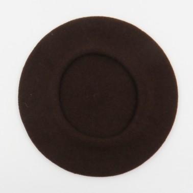 Béret Classique Chocolat Homme
