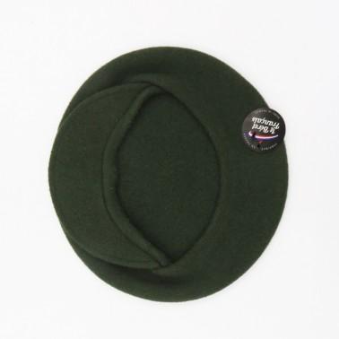 béret casquette kaki femme