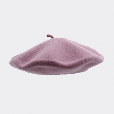 Classic Beret Old Light Purple Woman