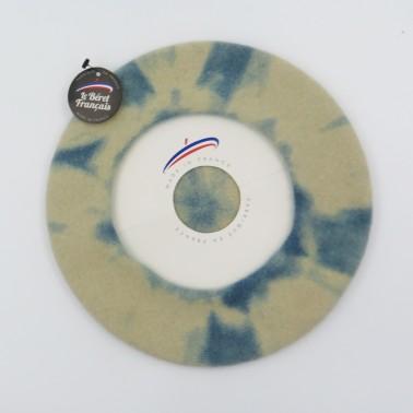 Bérets Tie Dye light shade