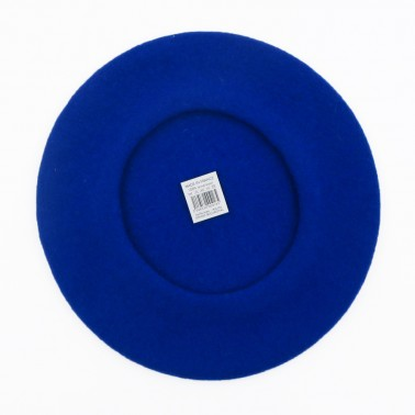 Classic Beret Royal Blue Woman