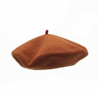 Premium Beret Caramel Man