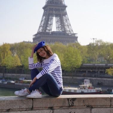 Béret Classique Bleu Royal Femme