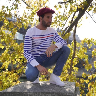 Béret Classique Bordeaux Homme