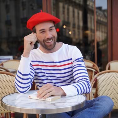 Béret Classique Rouge Homme