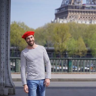 Béret Mode Rouge Homme