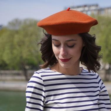 Béret Mode Citrouille Femme