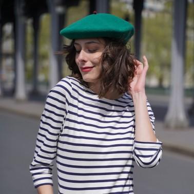 Béret Mode Vert Femme