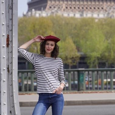 Béret Mode Bordeaux Femme