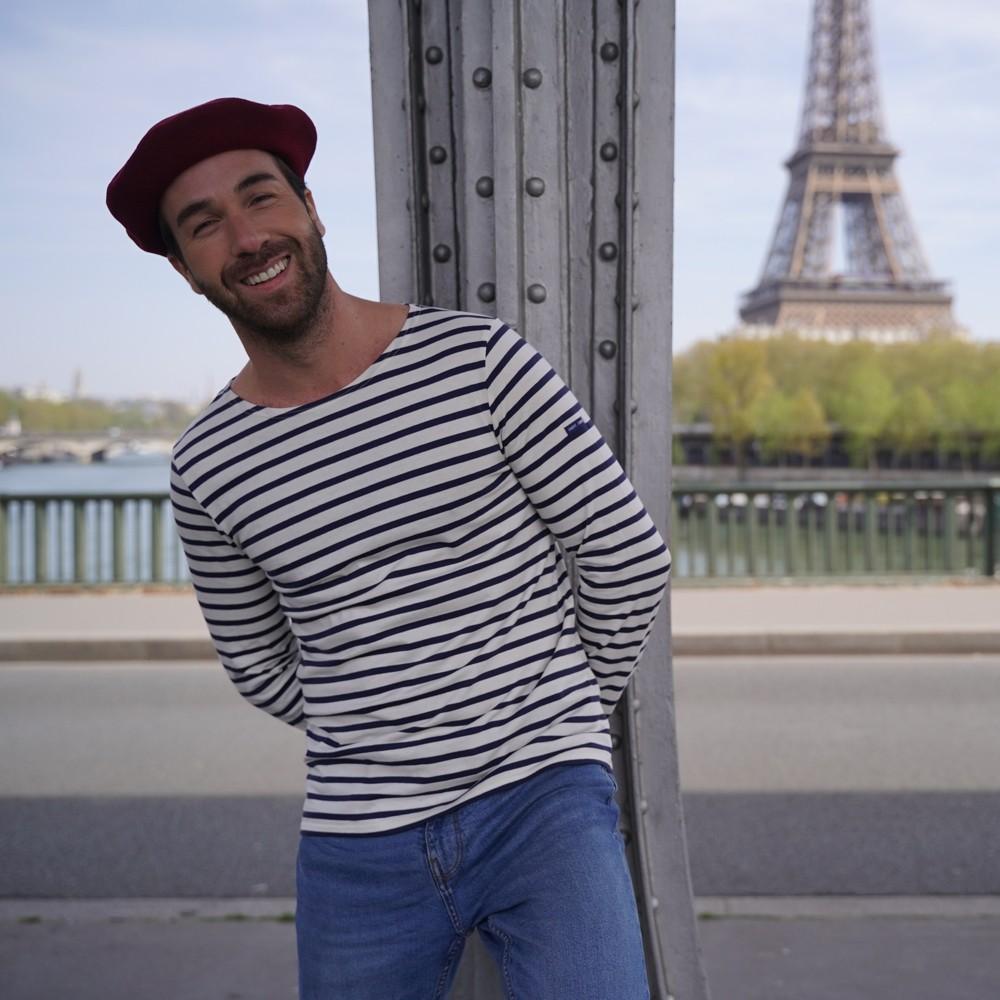 Béret Mode Bordeaux Homme
