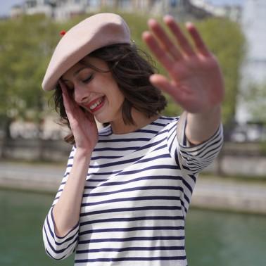 Béret mode Rose Poudré Femme