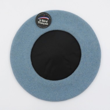 Premium Beret Light Blue Man