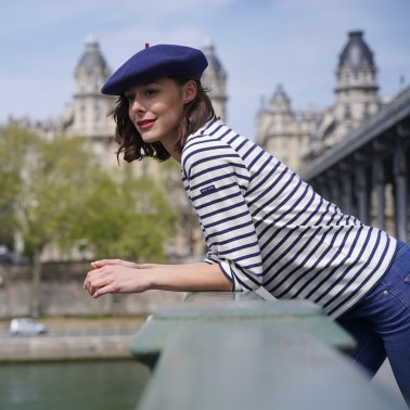 Premium Beret Denim Woman