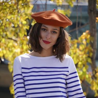 Béret Mode Caramel Femme