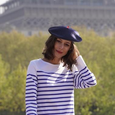 Béret Mode Marine Femme