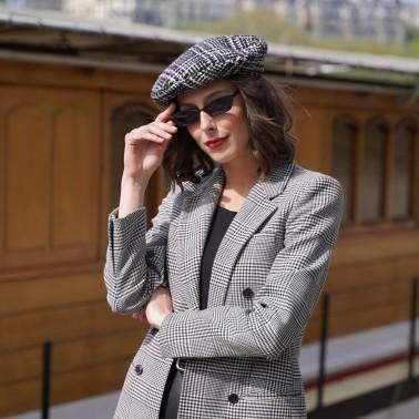 Beret Chic Tweed, le béret français
