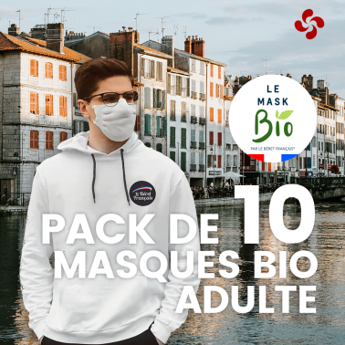 Le Mask bio Adultes - Pack de 10