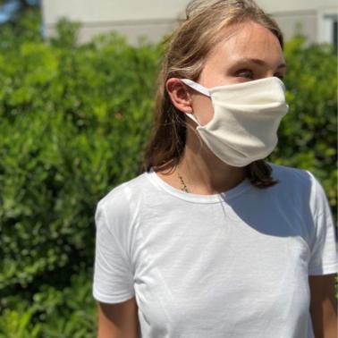 Masque en coton certifié Oeko-tex - Adulte L/XL