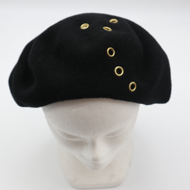 The Beret with rivet