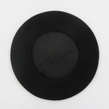 Béret Mode Noir Femme